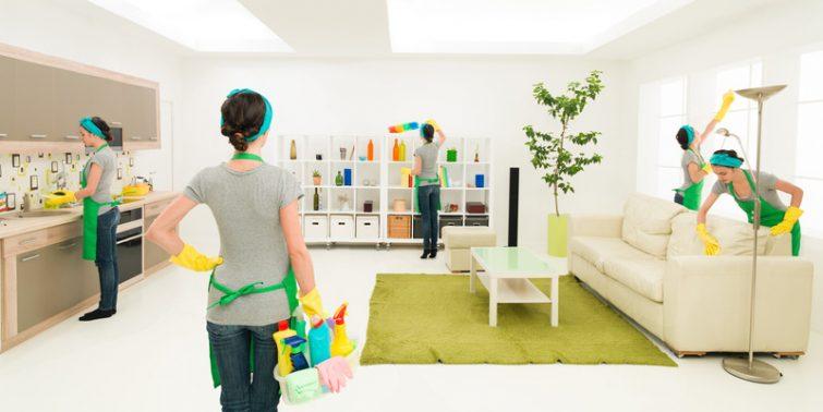 tâches ménagères avant le déménagement