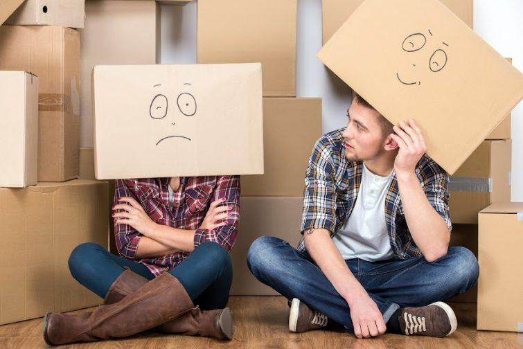 Déménager après une séparation