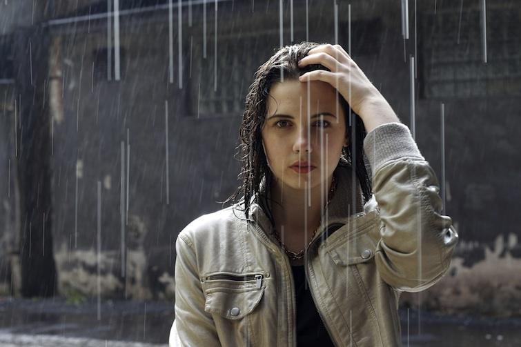 Déménager sous la pluie